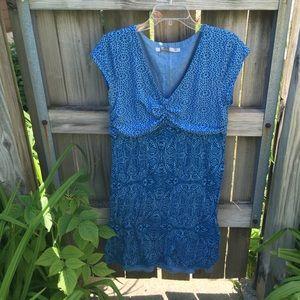 Fun blue Athleta dress!!